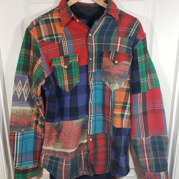 ec86e606 Polo by Ralph Lauren Shirts   Polo Ralph Lauren Classic Western ...